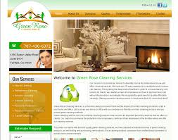 home web design business cleaning company business website designing prices website designers