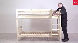 Flexa Bunk Beds Flexa Classic Bunk Bed With Ladder Assembly