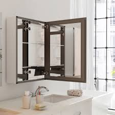 Accessories Mirrors Alya Bath T 580 3 Mirror Medicine Cabinet