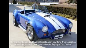 mustang kit car for sale 1965 shelby cobra replica factory 5 car for sale in