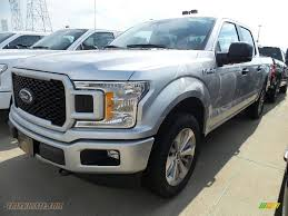 2018 ford f150 stx supercrew 4x4 in ingot silver a42879 truck