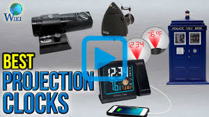 Cool Digital Clocks by Top 7 Projection Clocks Of 2017 Video Review
