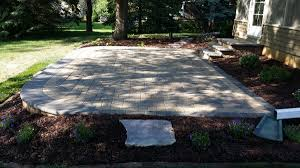 Small Paver Patio by Rochester Lakeville Owatonna Faribault Kenyon Cannon