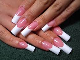 long french nails how you can do it at home pictures designs