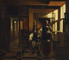 genre painting in northern europe essay heilbrunn timeline of interior with a young couple