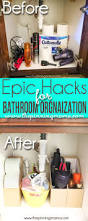 absolutely love this 5 bathroom hacks to keep organized these