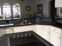 new island u0026 cooktop blue pearl granite with matching back splash