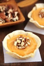 thanksgiving low calorie recipes butterscotch pecan tartlets amy u0027s healthy baking