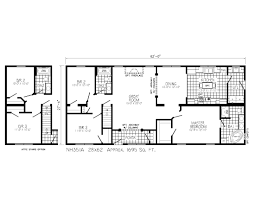 2 story mobile home floor plans 1950 ranch house plans style for homes home designs lrg impressive