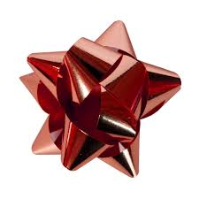 christmas gift bow bow unrestricted stock