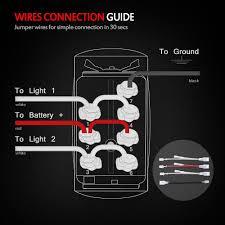 led 4 pin rocker switch wiring diagram wiring diagram simonand