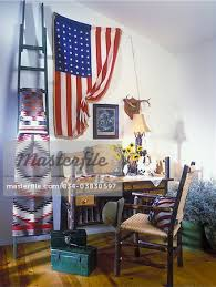 American Flag Living Room by Living Room Hickory Desk And Chair With Woven Caning Vintage
