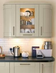 Glass Shelves Kitchen Cabinets Full Height Curved And Glass Wall Units With Internal Glass