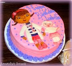 doc mcstuffins birthday cake samantha u0027s sweets cake art