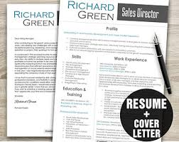 It Resume Template Download Cv Template Creative Resume Template Instant Download