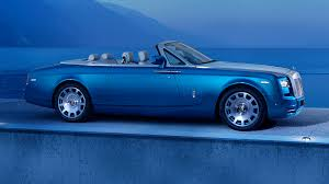 roll royce drophead phantom waterspeed