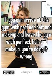 Hair And Makeup Apps You Can Arrive At The Gym With Perfect Hair And Makeup And Leave
