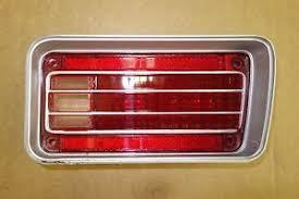 1970 chevelle tail lights 5963046 nos 1970 chevelle ss right tail light lens ebay