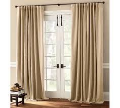 Cotton Curtains And Drapes Peyton Linen Cotton Drape Pottery Barn