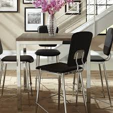 Alameda Counter Height Dining Table Square Kitchen Table Brooklyn - Counter height dining table base