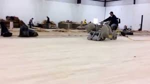 Lagler Hummel Floor Sander by Sanding Worlds Largest Recycled Sports Floor Lubbock Tx By Long
