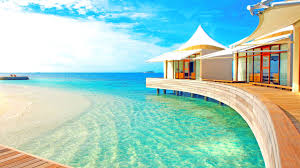 maldives beach villa image wallpaper 802 wallpaper