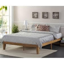 Metal Platform Bed Frames Zinus Wood Platform Bed U0026 Reviews Wayfair