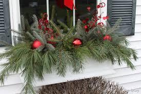 Christmas Window Box Decorations by Lowes Window Box Creative Ideas Bloggers Pinterest Window