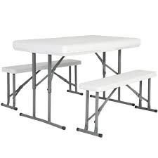 portable folding picnic table portable folding picnic table and benches white best choice products