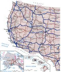 Map Of Usa With Highways by Cities Of Usfree Maps Of Us