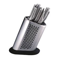 1a neuware global knife set of 11 g 8311 with knife block in a