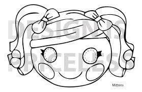 10 images coral lalaloopsy printable mask lalaloopsy