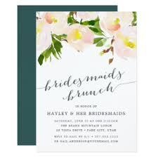 bridesmaid brunch invitation bridesmaids luncheon invitations announcements zazzle