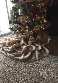 burlap tree skirt may arts wholesale ribbon company