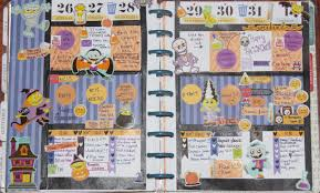 halloween sticker books plan with me november 2nd 8th