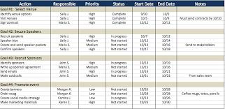 excel template project plan calendar template excel