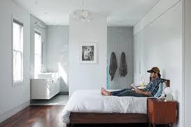 open floor plan bathroom clever open plan en suite idea bedroom ideas pinterest open