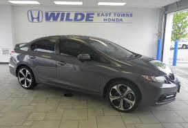 use car honda civic used car of the week certified low mileage 2014 honda civic si