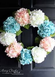 hydrangea wreath diy hydrangea wreath so easy you can make your own artsy
