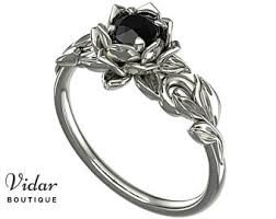 Gothic Wedding Rings by Gothic Engagement Etsy
