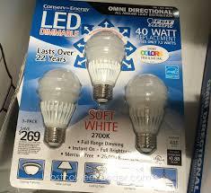 Costco Led Light Fixture Conserv Energy Led Light Bulbs Light Bulb Design