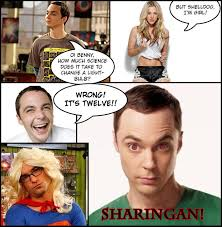 Big Bang Theory Meme - how much science does it take to change a light bulb the big bang