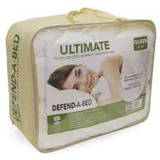 Pillow Top Mattress Pad Walmart Modern Sleep Defend A Bed Ultimate Bamboo Rayon Quilted Waterproof