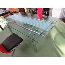 Table A Manger A Rallonge by Table En Verre Salle A Manger U2013 Chaios Com