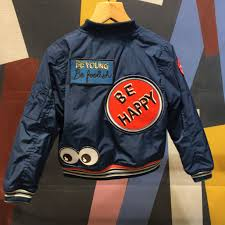 cool and fun retro er jacket by no added sugar for fall winter