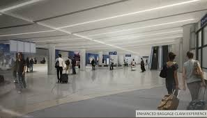 sketches of new united airlines terminal and club at lax live