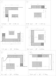 plan implantation cuisine cuisine taille cuisine salle à manger taille cuisine taille
