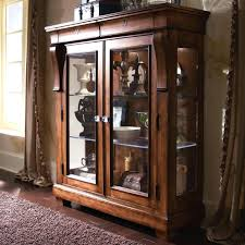 Curio Cabinet With Glass Doors Curio Cabinets With Glass Doors Decorationglass Curio Display