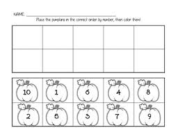 ideas of ordering numbers 1 10 worksheets in letter template