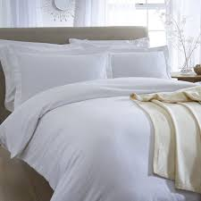 White Cotton Bed Linen - bed linen luxury bedding and fine linens the fine cotton company